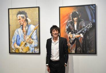 "Ronnie Wood, ""Faces, Times and Places"""