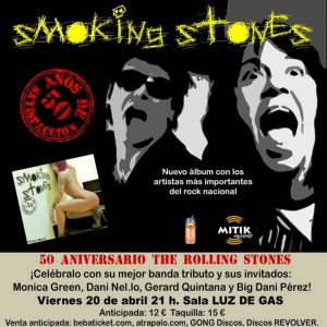 Smoking Stones 50 años de satisfaccion