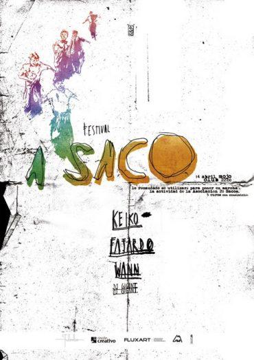 """I Festival """"A Saco"""" de la Asociación 20 Sacos"""