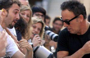 Rueda de prensa de Bruce Springsteen en Sevilla. Wrecking Ball Tour 2012