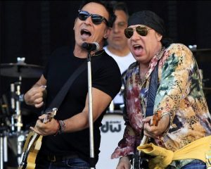 Bruce Springsteen ensayando en la ciudad de Sevilla. Wrecking Ball Tour 2012
