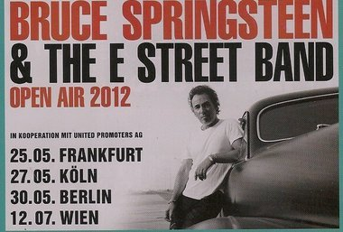 Bruce Springsteen & The E Street Band conHonky Tonk Women y Darlington County en Alemania 2012