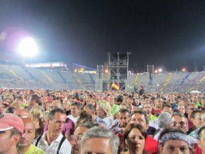 Bruce Springsteen en el Estadio de Gran Canaria, Las Palmas 15 de mayo de 2012