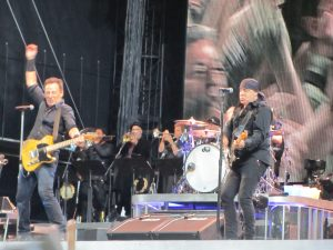 Bruce Springsteen & the E Street Band en el Estadio Olímpico de Montjuic en Barcelona 17 mayo 2012