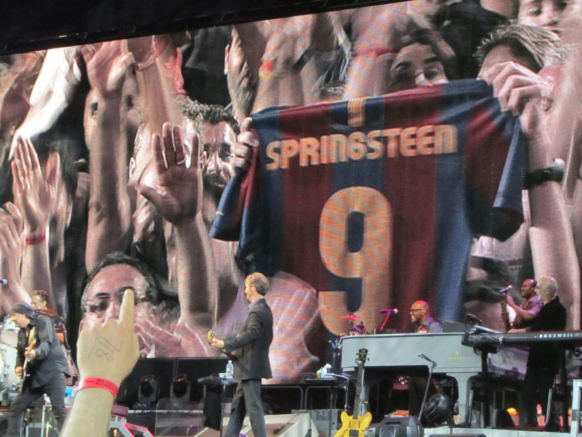 Bruce Springsteen & the E Street Band Barcelona 17 mayo 2012 Barça-Springsteen