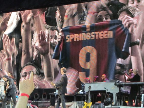 Bruce Springsteen & the E Street Band Barcelona 17 mayo 2012 Barça-Springsteen