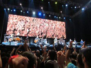 Bruce Springsteen & the E Street Band en Las Palmas de Gran Canaria 15 de mayo de 2012