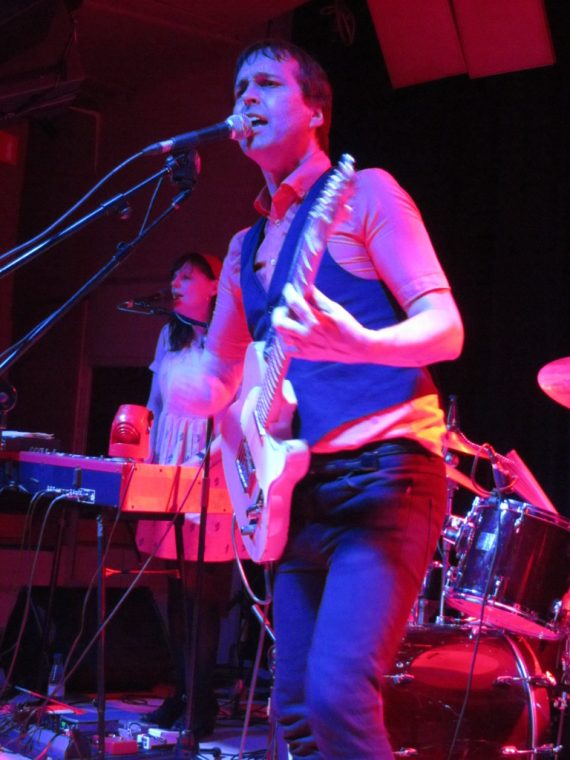 Chuck Prophet & The Mission Express, 7 de junio Madrid 2012, Sala El Sol, Temple Beautiful.