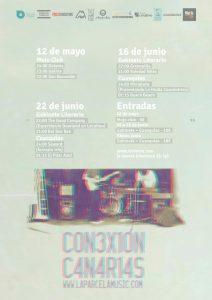 "Cartel promocional ""Conexión Canarias"""