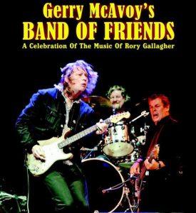 """Gerry McAvoy """"Band of Friends"""". Tributo Rory Gallagher, España 2012, Las Palmas, Vitoria, Madrid, Villava y Elorrio"""