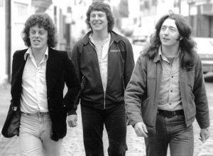Gerry McAvoy Ted McKenna y Rory Gallagher