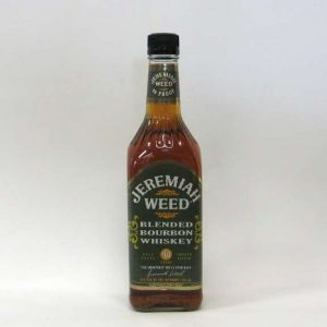"Jeremiah Weed, Bourbon- Whiskey con mucho sabor a  ZZ Top. ""I Got to get paid"""