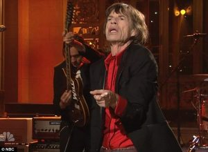 Mick Jagger Stauday Night Live 2012