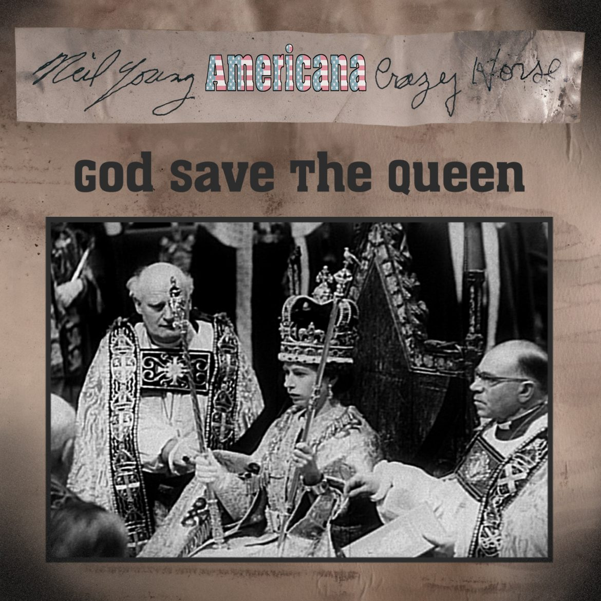 """Neil Young & Crazy Horse """"God Save the Queen"""" Himno Británico. Americana 2012"""