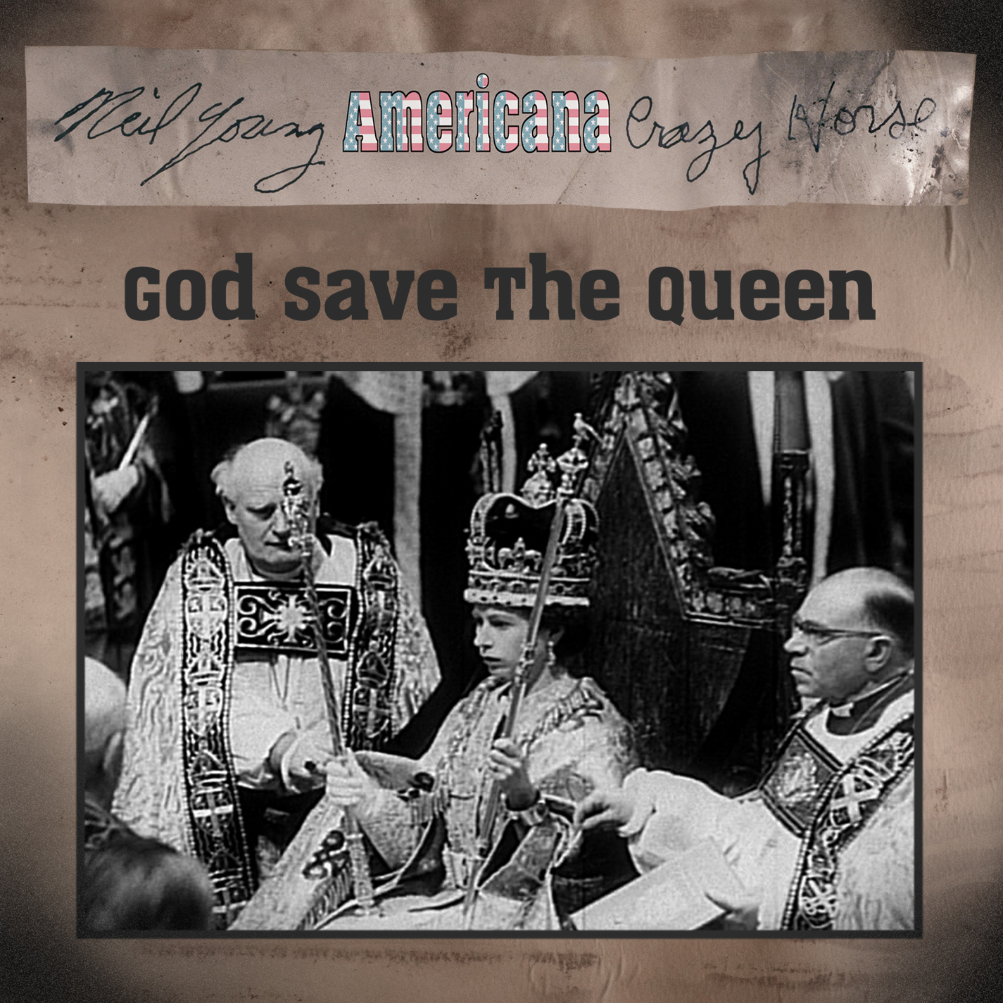 "Neil Young & Crazy Horse ""God Save the Queen"" Himno Británico. Americana 2012"