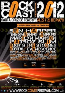 Rock Coast festival en Tenerife 2012