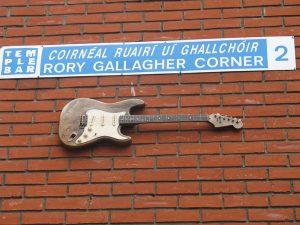 Rory Gallagher Corner en Temple Bar, Dublin.