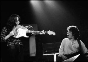 Rory Gallagher y Gerry McAvoy. Band of Friends.