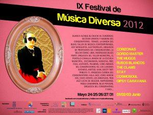 The Clams en el IX Festival de Música Diversa 2012, Segovia