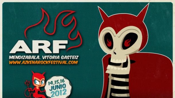 Azkena Rock Festival 2012. Mendizabala, Vitoria Gasteiz. 14, 15 y 16 de junio