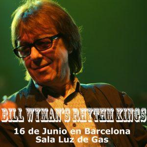 Bill Wyman's Rhythm Kings Spanish Tour 2012 gira española Barcelona Bilbao Coruña
