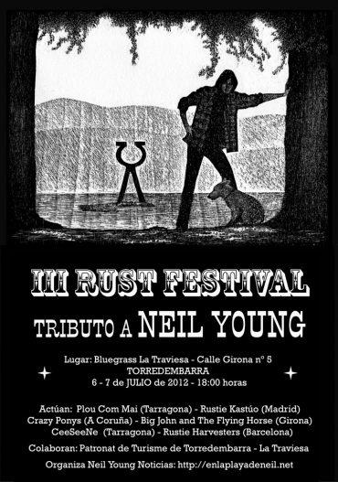 III RustFest La Playa en Torredembarra (Tarragona) Tributo Neil Young 2012