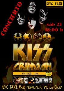 Kiss Crimson - NYC Taxi