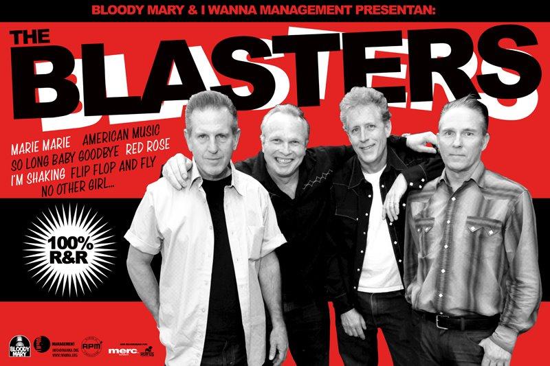 The Blasters. Gira española junio 2012.Spanish Tour.