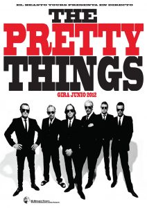The Pretty Things de gira por España. The Pretty Things Spanish Tour 2012