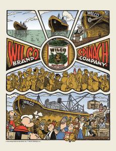 "Wilco y Popeye en  ""Dawned on Me"" (Me avivé), 2012"