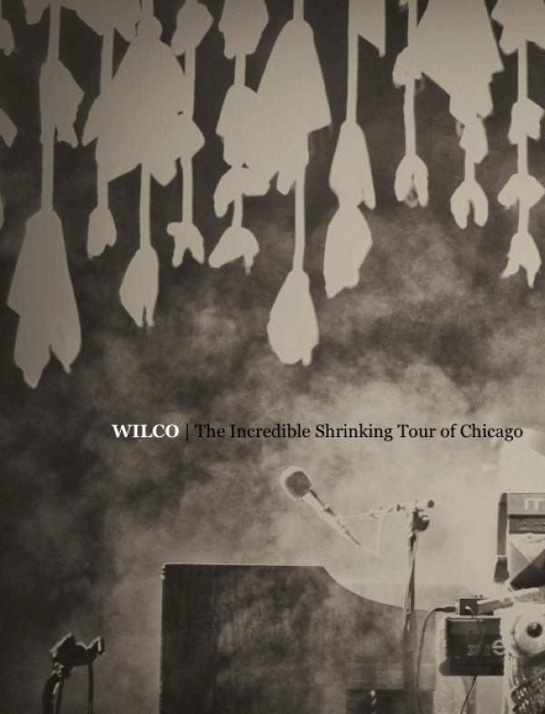 "Wilco ""Me Avivé"" del ""Dawned on me"" y su nuevo iBook ""The Incredible Shrinking Tour of Chicago"""