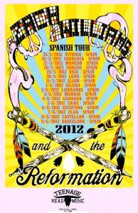 Zach Williams and The Reformation 2010 Live Demos Spanish Tour gira española 2012