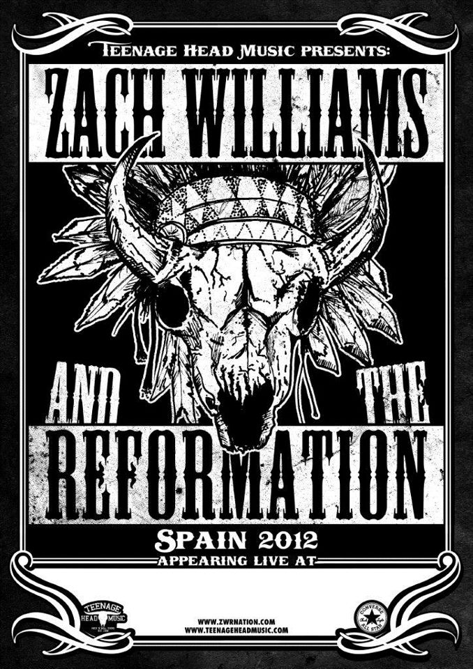 Zach Williams and The Reformation Spanish Tour 2012 España