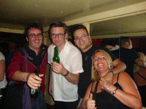 Con Joel Patterson de The Modern Sound y Deke Dickerson 10 de junio 2010