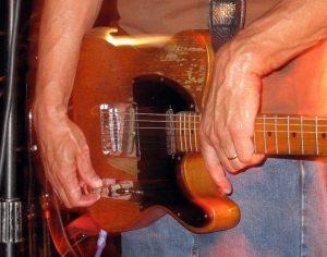 Dan Baird Fender Esquire del 57 de Steve Marriot, comprada en 1983, Dan Baird & Homemade Sin gira española 2012