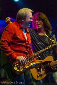 Dan Baird y Bobby Keys, saxofonista de The Rolling Stones. Dan Baird estará de gira en españa el próximo Noviembre con parada en Las Palmas de Gran Canaria
