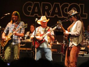 Dickey Betts & Great Southern Madrid 17 julio 2012 sala Caracol