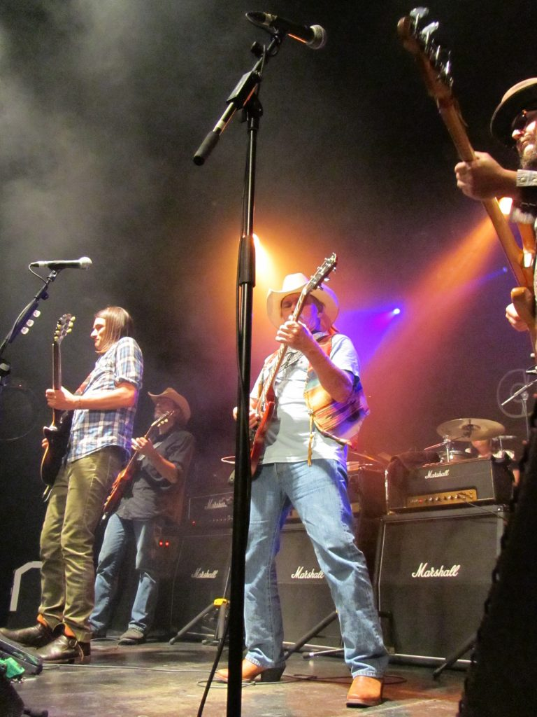 Dickey Betts & Great Southern Sala Caracol Madrid 17 julio 2012