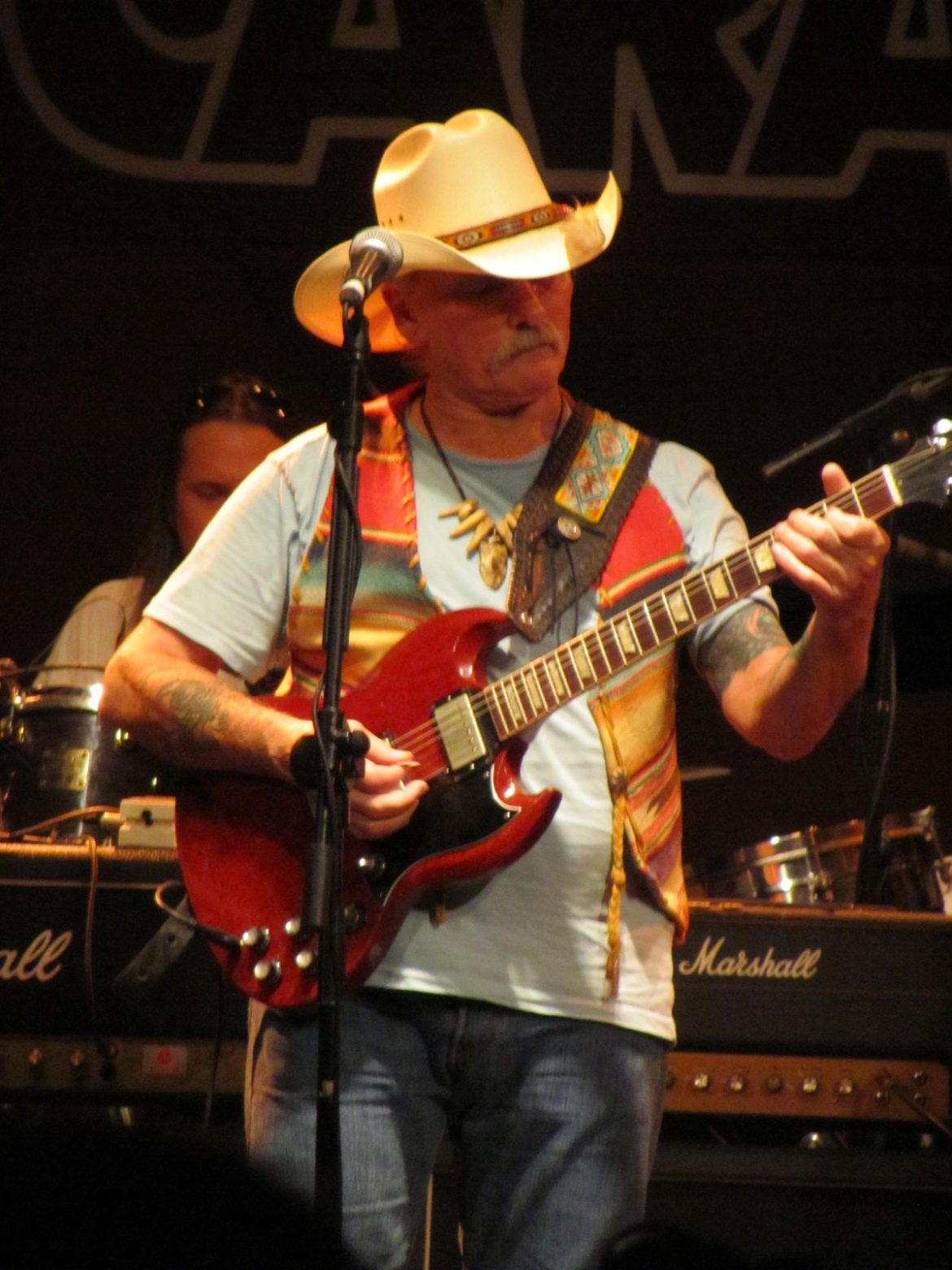 Dickey Betts and Great Southern en Madrid 17 julio 2012 sala Caracol