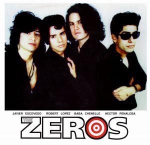 Javier Escovedo con The Zeros de gira próximamente en septiembre en España 2012