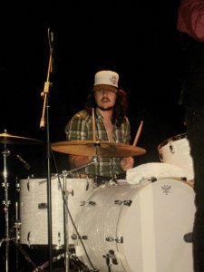 Mauro Comesaña, batería de The Soul Jacket en el especial The Rolling Stones