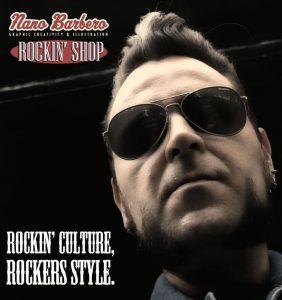 Nano Barbero. Rockin' Shop.The Rolling Stones 50 Anniversary 2012