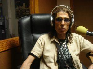 Nany Chinea, mánager en la actualidad de Fire Explosion. 50 aniversario The Rolling Stones 2012