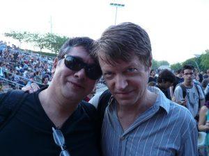 Roberto Sánchez y Nels Cline de Wilco.The Rolling Stones 50 Anniversary 2012