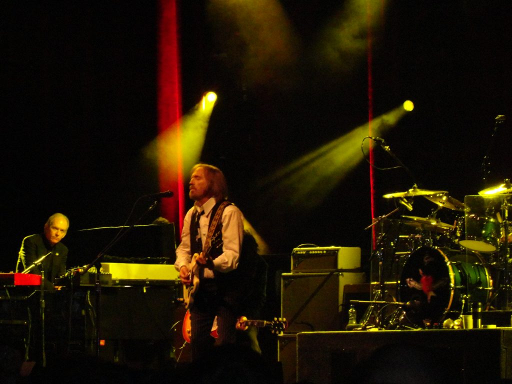 Tom Petty & The Heartbreakers 7 de junio 2012 en el O2 Arena Dublin. European Tour