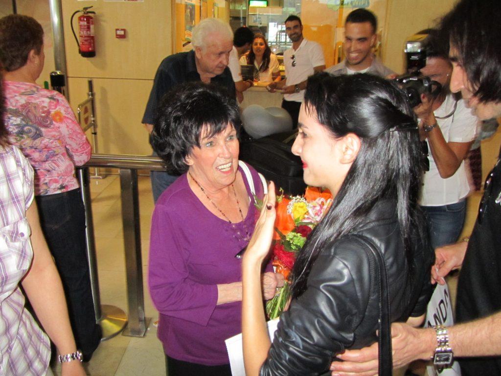 Wanda Jackson, Hary Viscious y Antonio de Amigos de Elvis