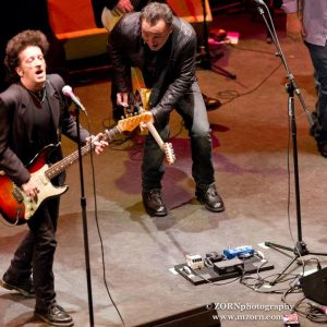 Willie Nile y Bruce Springsteen 2012