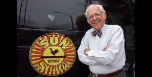 """John G. Parker """"Jay Parker"""" diseñador del logo de Sun Records falleció el 30 julio de 2012"""