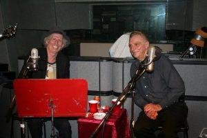 Keith Richards con Lou Pallo en Thank You Les