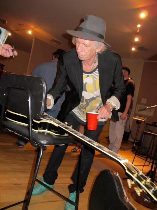 "Keith Richards en ""Thank You Les"", disco homenaje a Les Paul"